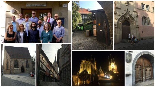 Photos of Erfurt town