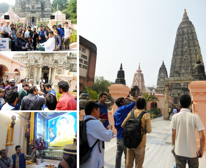 In the land of Buddha – Field Trip to Bodh Gaya 1