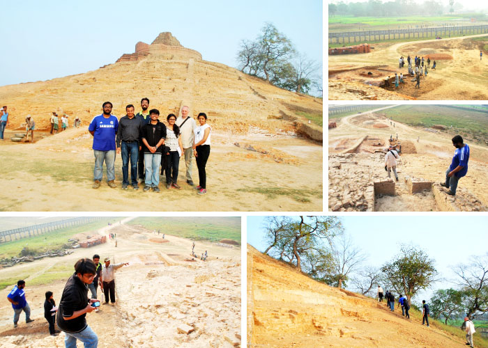 Field visit to Lauriya Nandangarh and Kesariya in Champaran 4