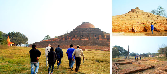 Field visit to Lauriya Nandangarh and Kesariya in Champaran 5