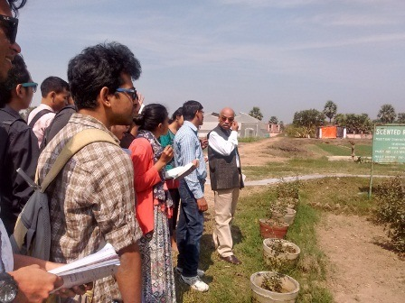 Field Visit to Noorsarai and Harnaut