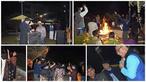 Nalanda University Community Celebrates Harvest Festival
