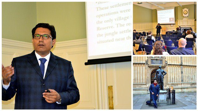 Dr. Sayan Bhattacharya Delivers Lecture at International Conference on Climate Change at University of Oxford